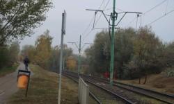 Przejazd przez tory tramwajowe – ul. Milczańska